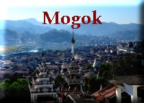 The ruby mines of Mogok ...