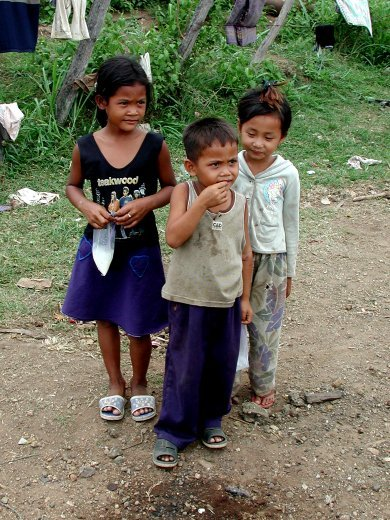 Children in Pailin