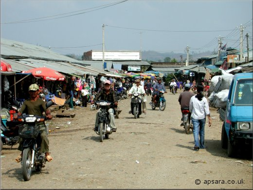 Samaki Market in Pailin City