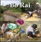 Ruby mining at Bo Rai, Trat, Thailand.