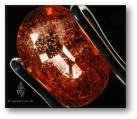 Zircon crystals turn 'fluffy' after treatment with beryllium.